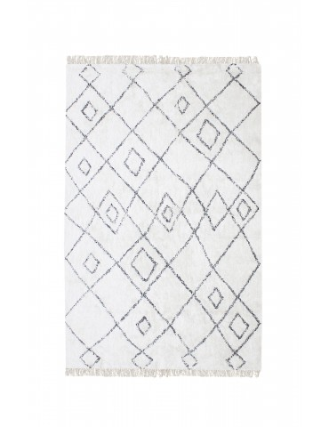Tapis Ervin Ivoire/taupe 120 x 180 1030015028The Rug Republic