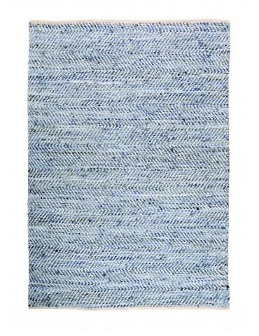 Tapis Atlas Blanc/bleu 55 x 85 1035000031The Rug Republic