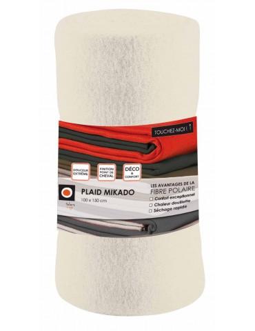 Plaid Mikado Cement 100 X 150 4766022000Les Ateliers du Linge
