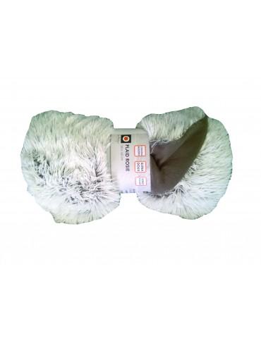 Plaid Microfibre Rosie Argile 130 X 160 3372070000Les Ateliers du Linge
