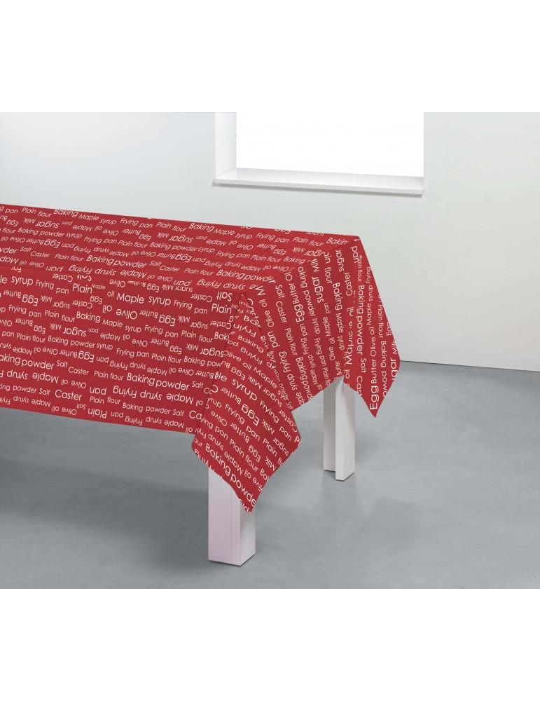 Nappe rectangulaire Receipe Imprimé 150 x 250 7750030601Les Ateliers du Linge