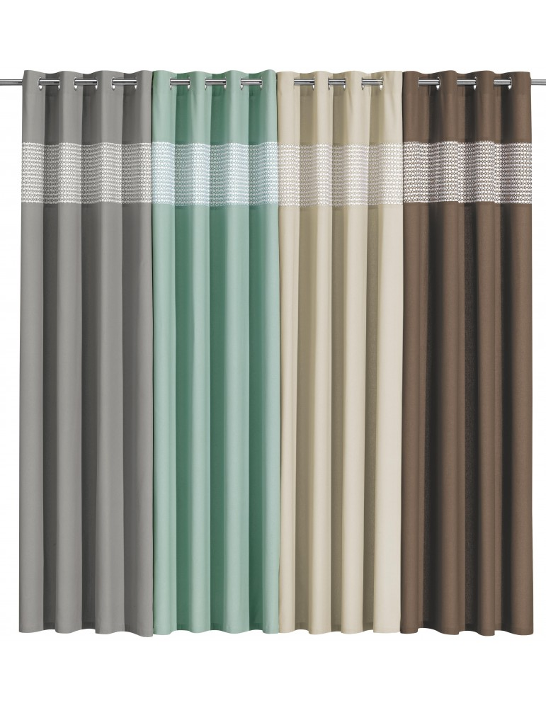Rideau Tosca Gris 140 x 240 4703070000Les Ateliers du Linge