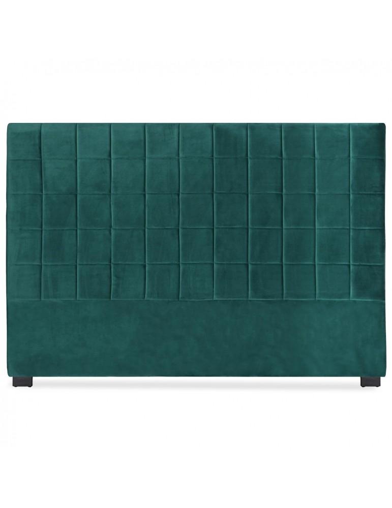 Tête de lit Chess 180cm Velours Vert lf260180vvert