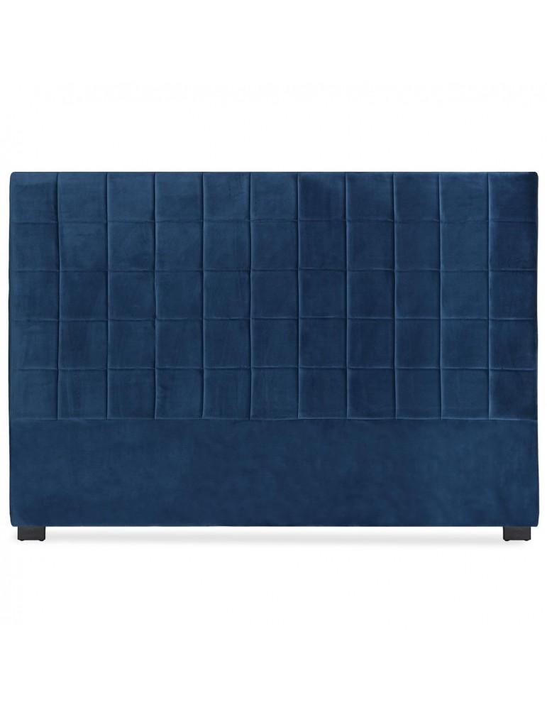 Tête de lit Chess 180cm Velours Bleu lf260180vbleu