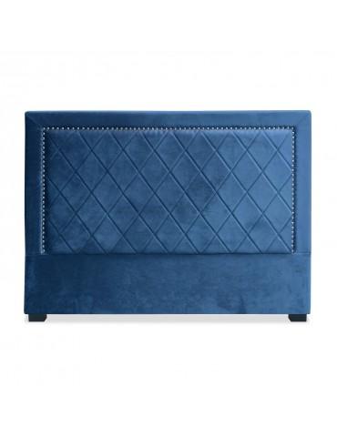 Tête de lit Meghan 160cm Velours Bleu lf258160vbleu