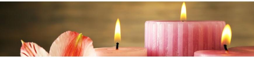 Bougeoir-photophore-bougies
