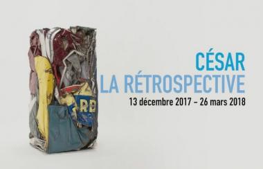 affiche Cesar la retrospective 2018