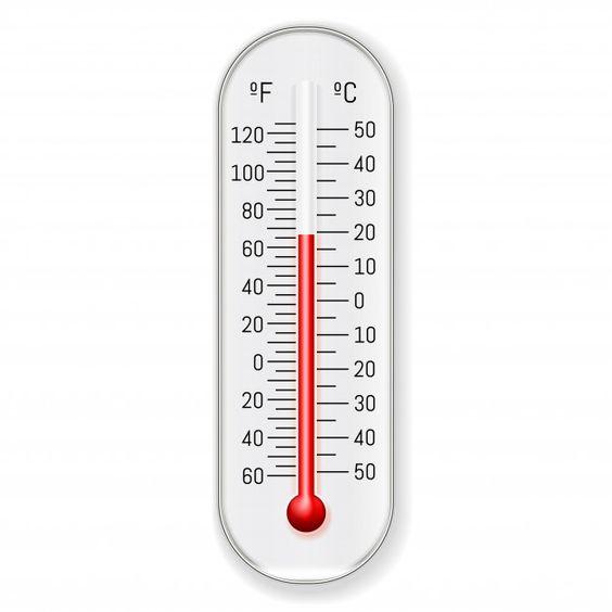 Thermomètre chaleur couette
