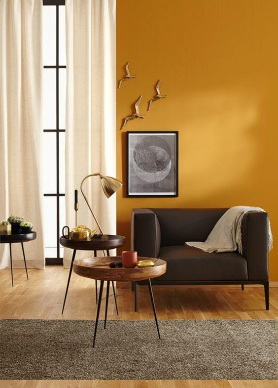 Avec quelles couleurs associer le jaune moutarde en déco. Le Mag ...