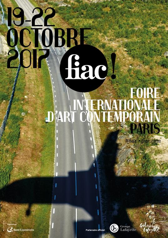 affiche Fiac Paris 2017