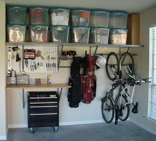 organiser son garage