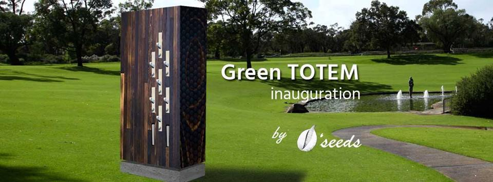 inauguration green totem