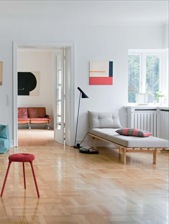 méridienne scandinave contemporaine