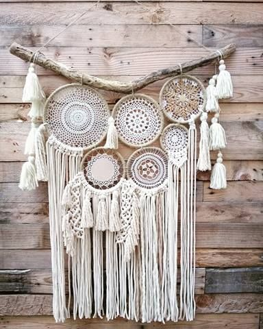 macrame attrape reves