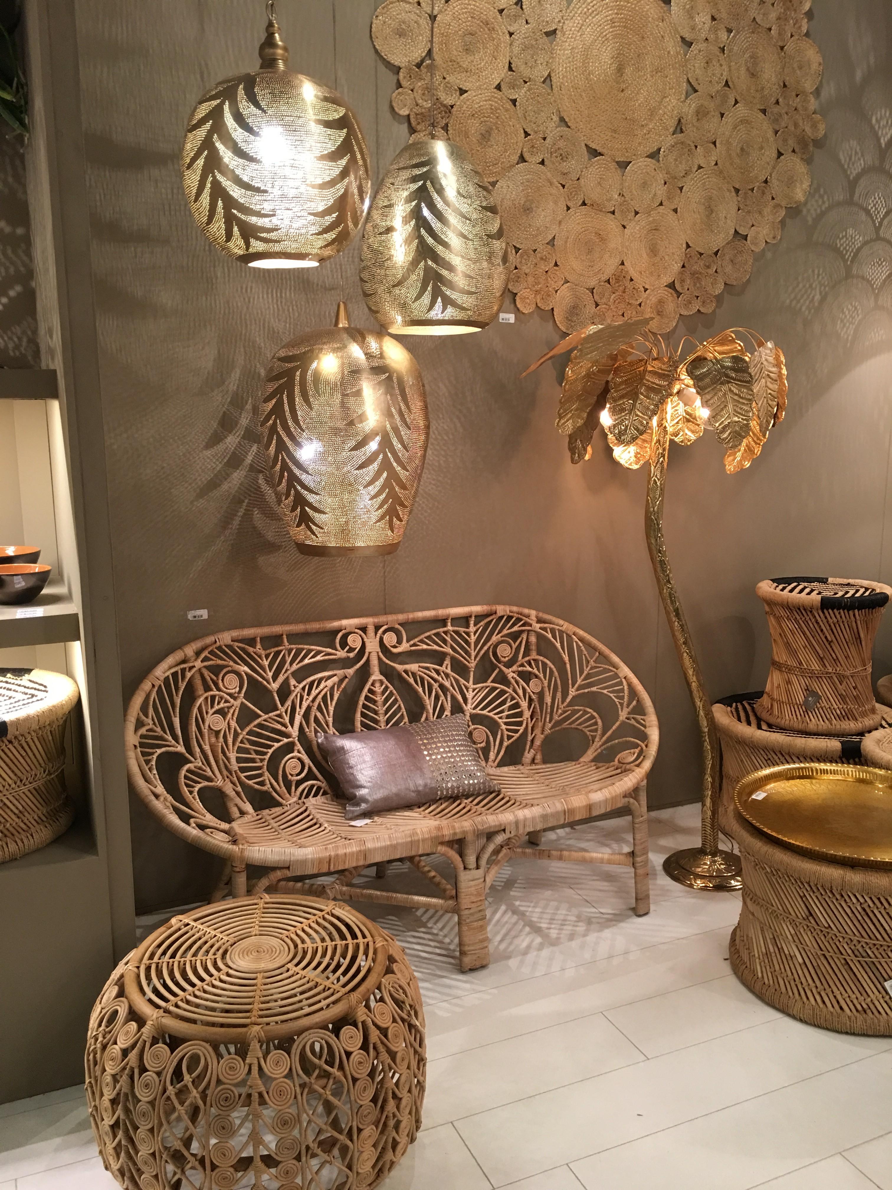 L\'osier, le rotin et le bambou omniprésents au salon Maison ...