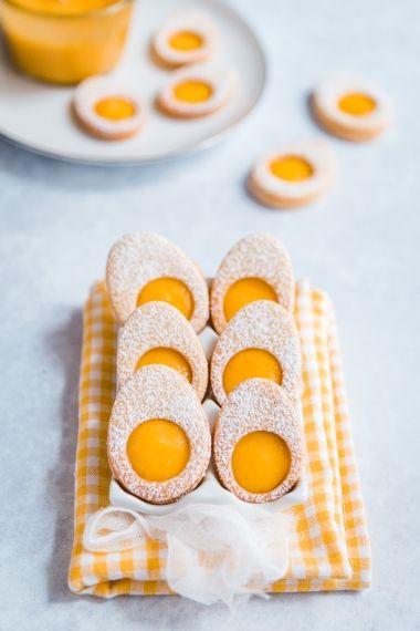 Sablés de pâques à la mangue