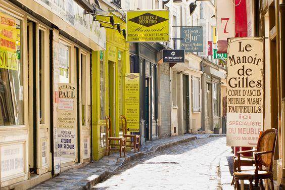 Passage du chantier Paris