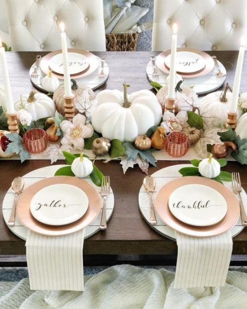 deco table blanche thanksgiving society19 com