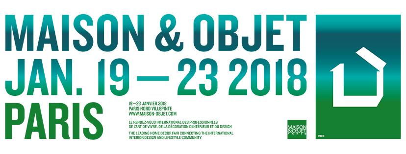 affiche Maison & Objet 2018