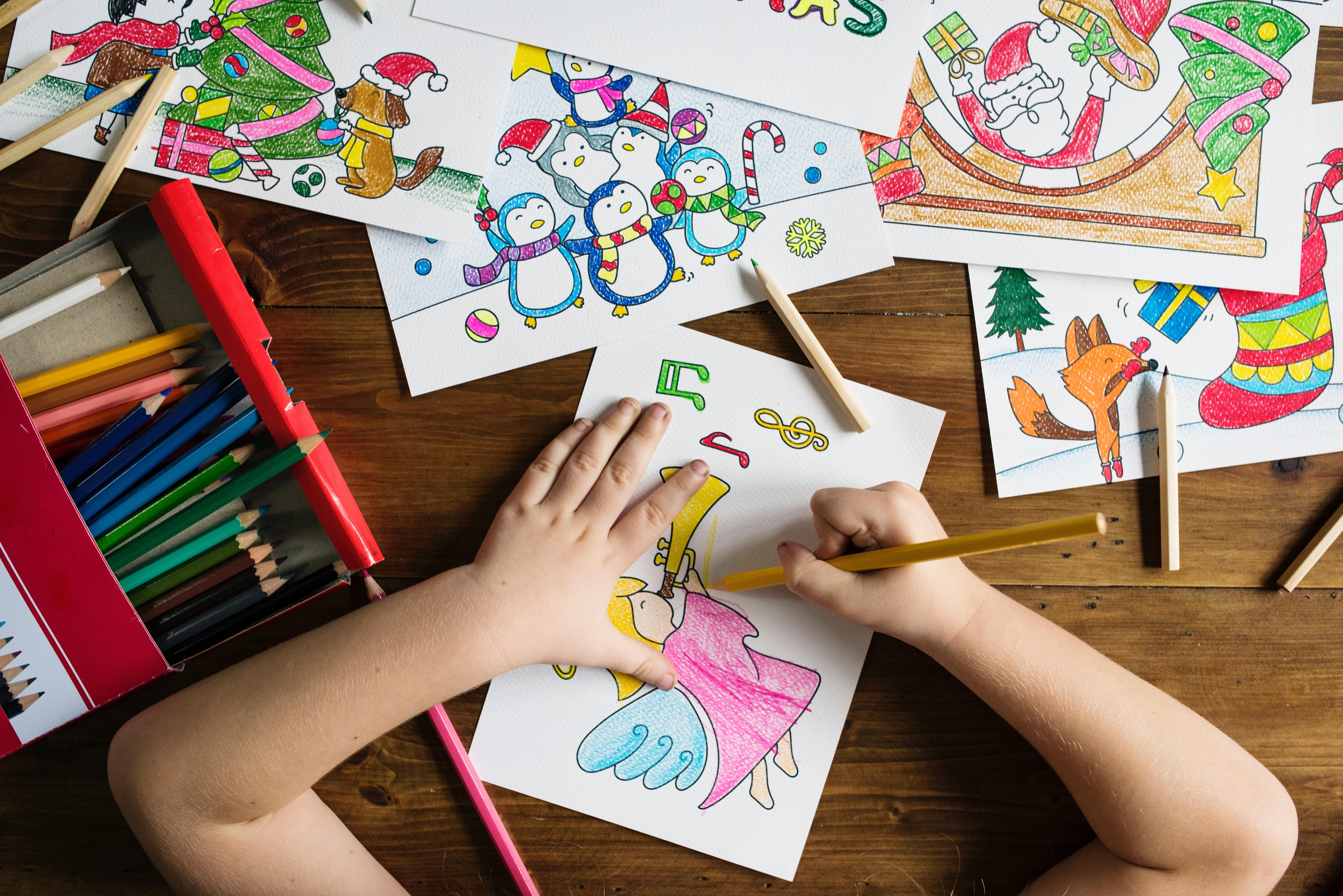 50 idées pour occuper les enfants - dessin enfant