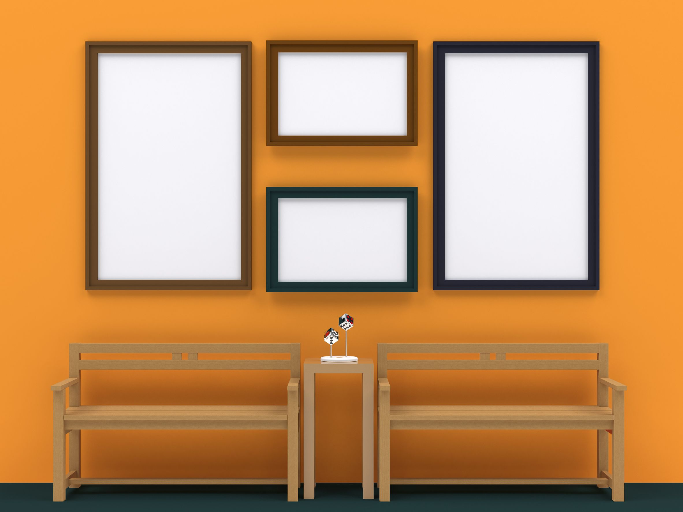 cadres rectangle