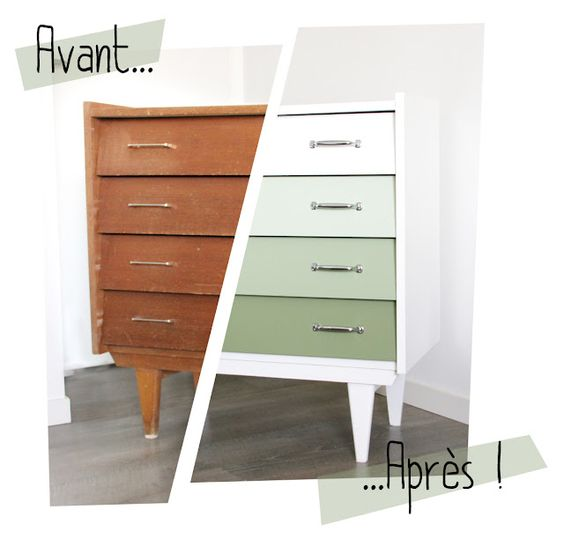 Comment relooker une commode le mag visiondeco - Relooking vieux meubles ...