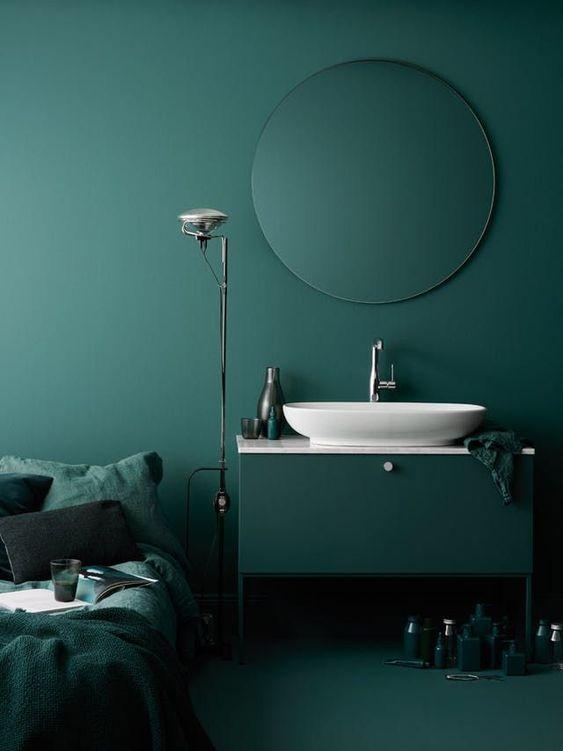 Comment Integrer Le Vert Fonce Dans Votre Decoration Le Mag Visiondeco