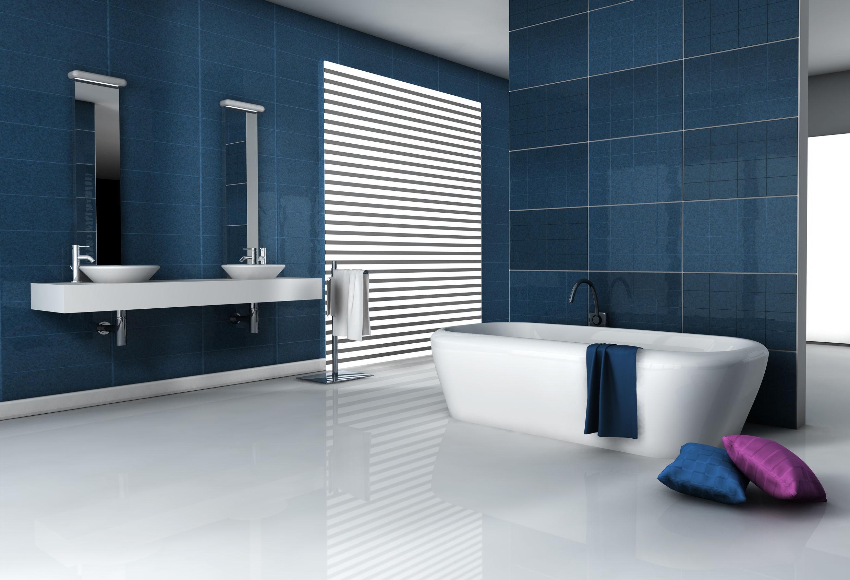 salle de bain bleu ciel top interesting et mauve u. Black Bedroom Furniture Sets. Home Design Ideas