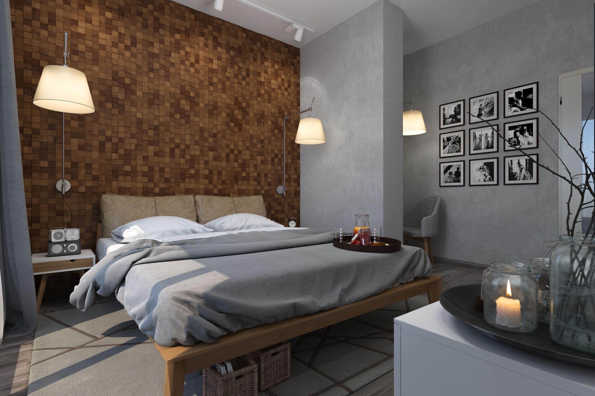 Chambre grise et beige latest amenagement dacoration - Chambre grise et beige ...