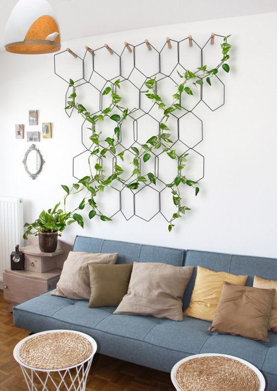 comment d corer votre int rieur avec des plantes vertes. Black Bedroom Furniture Sets. Home Design Ideas