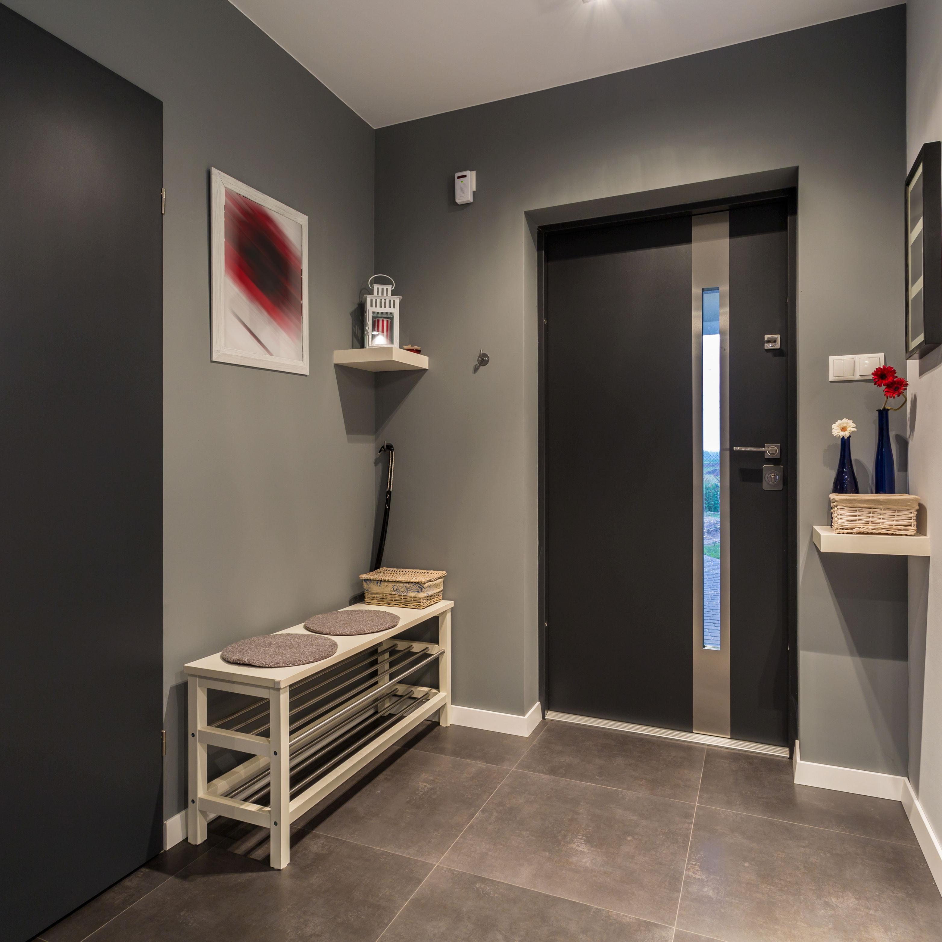 Papier Peint Entree Moderne décorer son hall d'entrée . le mag - visiondeco