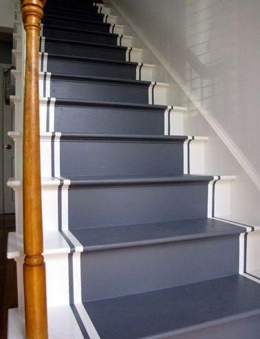 Tableau Pinterest : Comment Relooker Un Escalier. Le Mag-Visiondeco