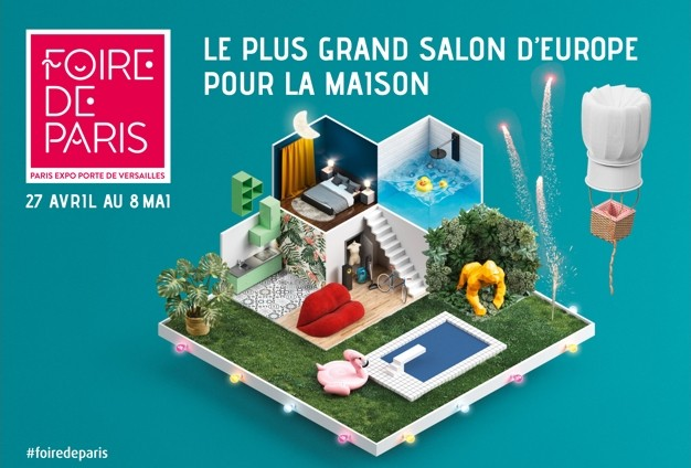 foire de Paris 2018 affiche