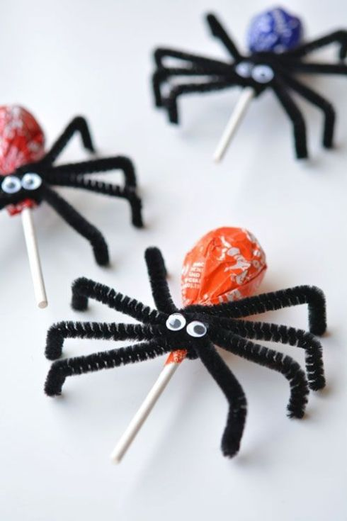 araignée bonbon