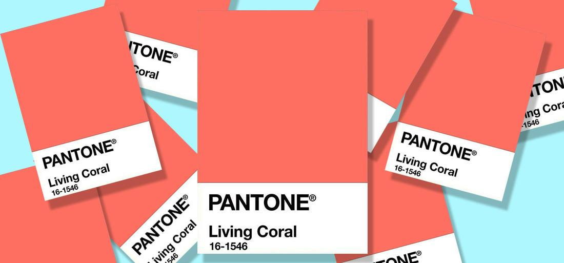 couleur pantone 2019 living coral