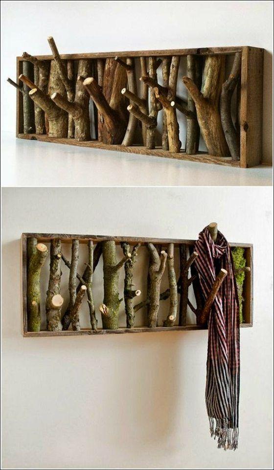 Comment créer des portes manteaux originaux. Le Mag-Visiondeco