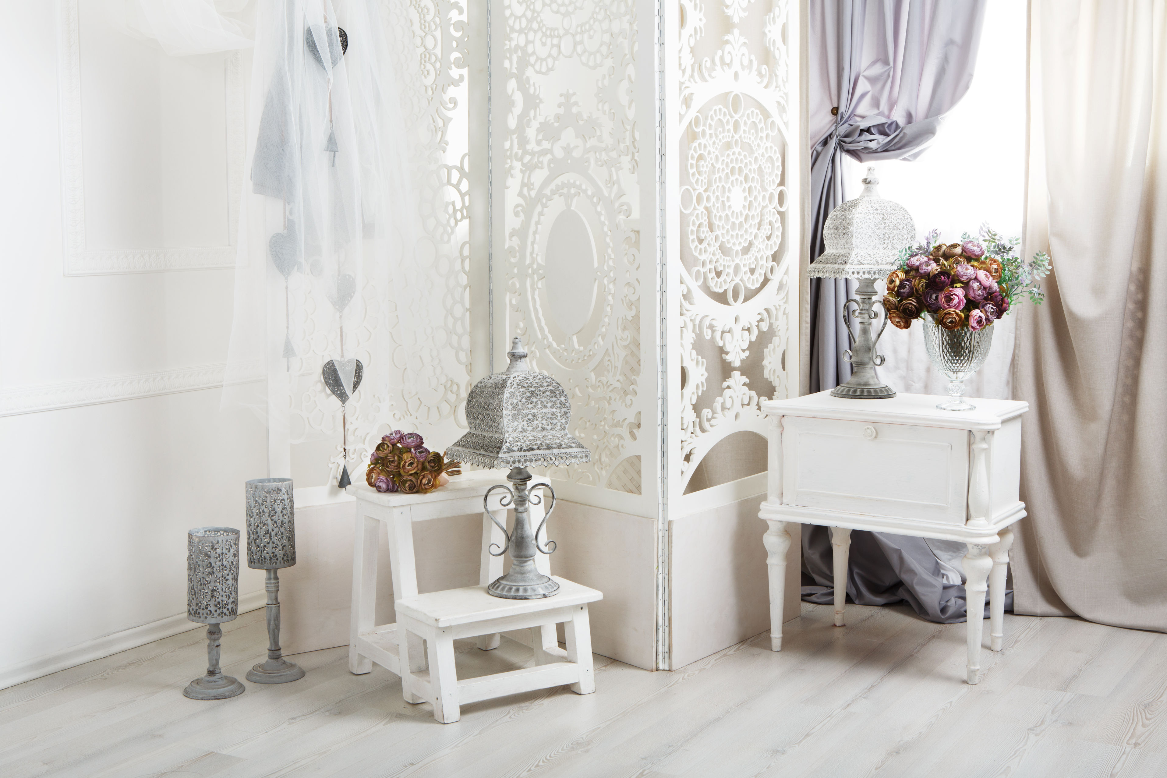 deco blanche shabby chic