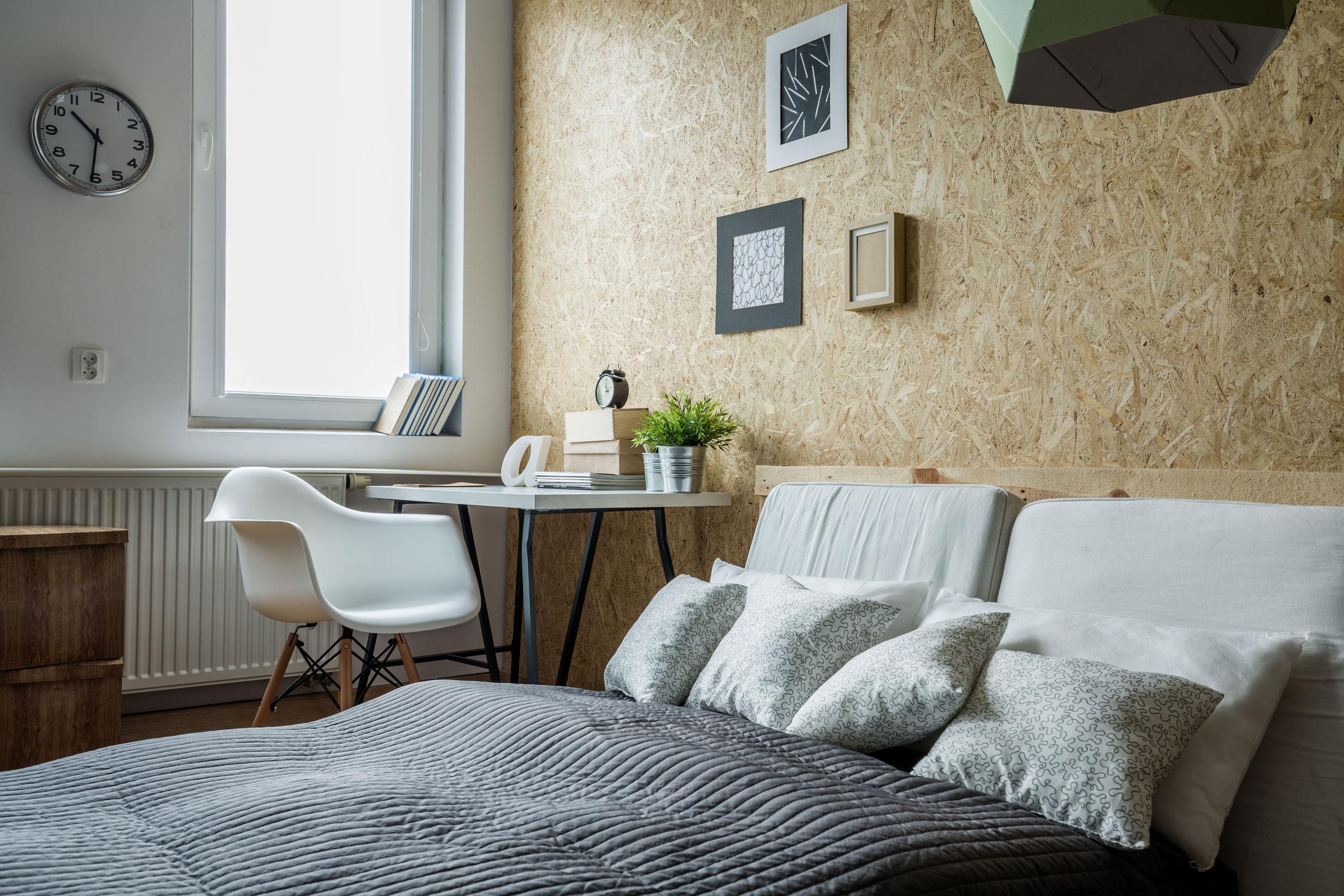 donner du style votre chambre avec une t te de lit int gr votre d co murale le mag visiondeco. Black Bedroom Furniture Sets. Home Design Ideas