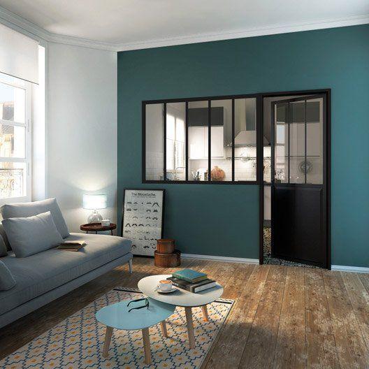 comment obtenir une cloison tr s tendance avec une verri re le mag visiondeco. Black Bedroom Furniture Sets. Home Design Ideas