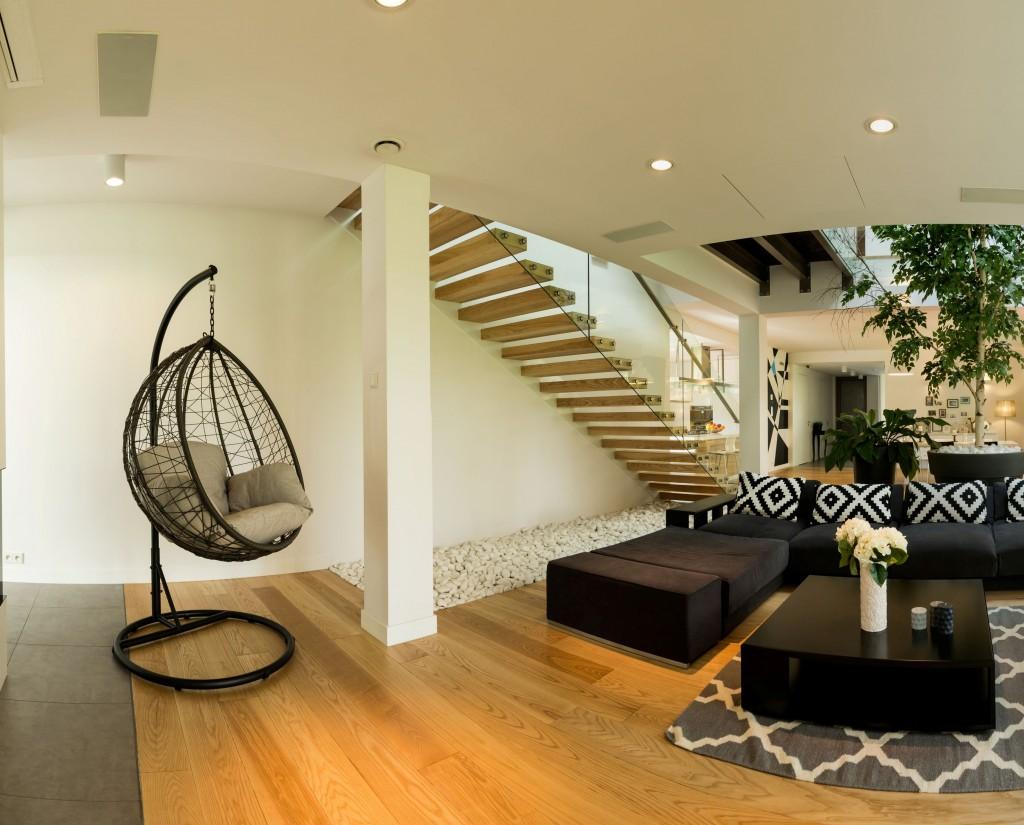 comment int grer un fauteuil suspendu dans votre d coration le mag visiondeco. Black Bedroom Furniture Sets. Home Design Ideas