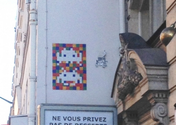 Les Space Invaders envahissent nos rues